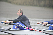 London, Great Britain, TSS. Men's H/W Quad, Mahe DRYSDALE, training on the River Thames Chiswick to Putney.  [Mandatory Credit. Peter Spurrier/Intersport Images]