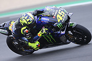 #46 Valentino Rossi, Italian: Movistar Yamaha MotoGP during the MotoGP Grand Prix de France at the Bugatti Circuit at Le Mans, Le Mans, France on 18 May 2019.