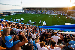 Fans during football match between HNK Rijeka and HNK Cibala in Round #35 of 1st HNL League 2016/17, on May 21st, 2017 in Rujevica stadium, Rijeka, Croatia. Photo by Grega Valancic / Sportida