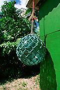 Glass Fishing Ball, Peleliu, Palau, Micronesia<br />