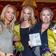 NLD/Amsterdam/20131021 - Boekpresentatie Let's Talk about Sex van Nicolette Kluiver, Floortje Dessing en voorzitster Stop Aids Now