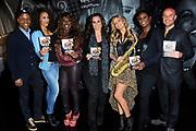 CD en DVD presentatie Ladies of Soul in Club Ziggo Dome, Amsterdam.<br /> <br /> Op de foto: Humberto Tan, Glennis Grace, Berget Lewis, Trijntje Oosterhuis, Candy Dulfer, Edsilia Rombley en Tjeerd Oosterhuis