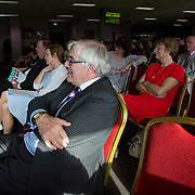 31.05.2018.          <br /> Limerick and Clare Education Training Board launch Youth Work Plan 2018-2021 at Thomond Park Limerick with Pat Breen TD, Minister of State with special responsibility for Trade, Employment, Business, EU Digital Single Market and Data Protection, Clare. Picture: Alan Place