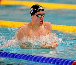 12-12-2014 NED: Swim Cup 2014, Amsterdam<br /> Lucas Greven 200m breaststroke
