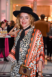 "Alice Temperley at the opening of ""Frida Kahlo: Making Her Self Up"" Exhibition at the V&A Museum, London England. 13 June 2018."