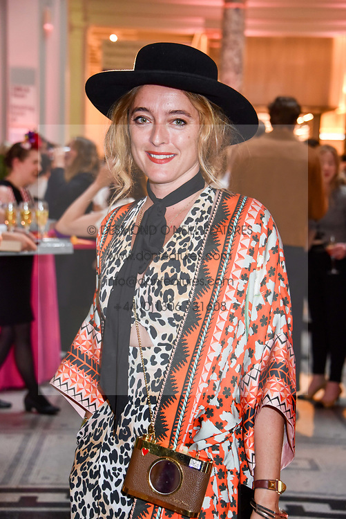 """Alice Temperley at the opening of """"Frida Kahlo: Making Her Self Up"""" Exhibition at the V&A Museum, London England. 13 June 2018."""