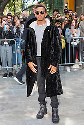 Guests arrival at the Giorgio Armani Fashion Show during the Milan Fashion Week 2017 on September 22, 2017. 22 Sep 2017 Pictured: Lewis Hamilton at the Giorgio Armani Fashion Show during the Milan Fashion Week 2017 on September 22, 2017. Photo credit: Stefano Costantino / MEGA TheMegaAgency.com +1 888 505 6342