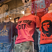 Famous tee shirt store.