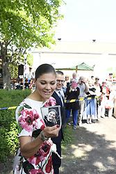 June 6, 2017 - Crown princess Victoria, prince Daniel..National Day celebrations, Görvälns slott, Järfälla, 2017-06-06..(c) Carolina Byrmo / IBL....Nationaldagen firas, Görvälns slott, Järfälla, 2017-06-06 (Credit Image: © Aftonbladet/IBL via ZUMA Wire)