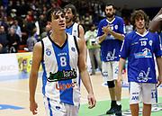 Capo dOrlando 15 Novembre 2015<br /> BASKET Lega A Beko<br /> Betaland Orlandina Basket - Vanoli Cremona<br /> NELLA FOTO delusione Laquintana<br /> FOTO CIAMILLO