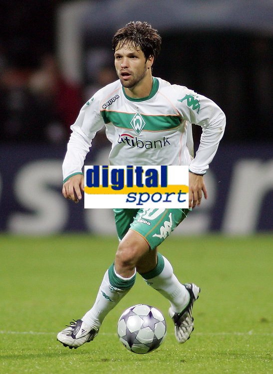 Fotball<br /> Tyskland<br /> 16.09.2008<br /> Foto: Witters/Digitalsport<br /> NORWAY ONLY<br /> <br /> Diego<br /> <br /> Fussball Champions League Werder Bremen v Anorthosis Famagusta 0-0