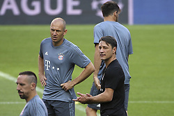 September 18, 2018 - Na - Lisbon, 18/09/2018 - FC Bayern Munich trained this afternoon at the Luz stadium before the Champions League game against SL Benfica at the Est√°dio da Luz in Lisbon. Ribery, Robben and Niko Kovac  (Credit Image: © Atlantico Press via ZUMA Wire)