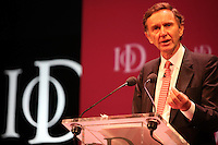 .Institute of Directors Annual Convention 2010..Stephen Green, Group Chairman of HSBC Holdings Ltd speaking at the convention....