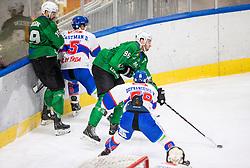 Zajc Miha of HK Olimpija during Ice hockey match between HK SZ Olimpija and SHC Fassa Falcons in Round #20 of Alps Hockey League 2020/21, on February 16, 2021 in Hala Tivoli, Ljubljana, Slovenia. Photo by Vid Ponikvar / Sportida