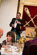 AUCTIONEER CHARLES GRAHAM CAMPBELL;  The National Trust for Scotland Mansion House Dinner. Mansion House, London. 16 October 2013