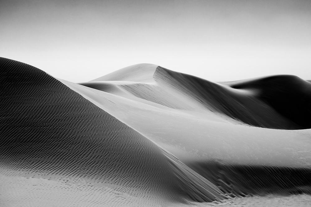 Landscape at Glamis Sand Dunes in Southern California. ©justinalexanderbartels.com