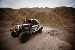 January 11, 2019 - Arequipa, Peru - AREQUIPA, PU - 11.01.2019: DAKAR 2019 - Rodrigo Javier Moreno Piazzoli (chi) during the Dakar Rally 2019, this Friday (11), in Arequipa, Peru. (Credit Image: © José MáRio Dias/Fotoarena via ZUMA Press)