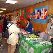 Open dag gemeentehuis Bussum, voorlichting politieke partijen