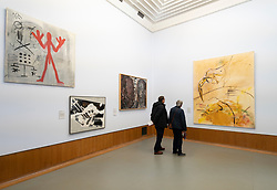 Interior of  the Museum Boijmans van Beuningen in Rotterdam The Netherlands