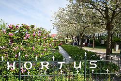 The entrance to Hortus Bulborum, Limmen, Holland