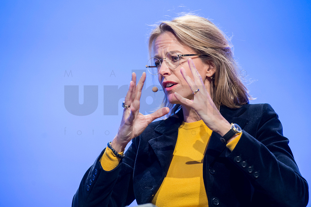 23 NOV 2018, BERLIN/GERMANY:<br /> Julia Jaekel, CEO Gruner + Jahr, Deutscher Arbeitgebertag 2018, Vereinigung Deutscher Arbeitgeber, BDA, Estrell Convention Center<br /> IMAGE: 20181123-01-363<br /> KEYWORDS: Julia Jäkel