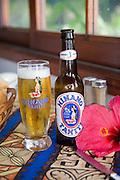 Hinano Beer, Les Tipaniers Hotel & Restaurant, Moorea, French Polynesia
