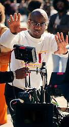 "EXCLUSIVE: Oscar winner Best Picture (Moonlight 2017) Barry Jenkens films ""If Beale Street Could Talk"". 19 Oct 2017 Pictured: Barry Jenkins. Photo credit: SteveSands/NewYorkNewswire/MEGA TheMegaAgency.com +1 888 505 6342"