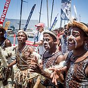 © Maria Muina I MAPFRE. In port race in Cape Town. Regata costera en Ciudad del Cabo.