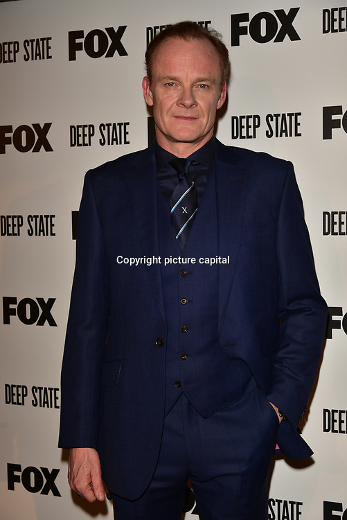 Alistair Petrie Attend the European Premiere Deep State at Curzon Soho on 15 March 2018, London, UK.