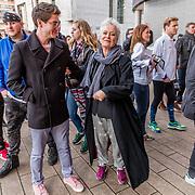 NLD/Rotterdam/20170319 - inloop De Marathon de Musical, Doris Baaten en ..........