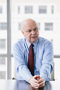 WASHINGTON, DC - MARCH 19: Gen. Michael Hayden speaks with Stern reporter Katja Gloger in his office in Washington, D.C. Gen. Hayden is the former Director of the National Security Agency and Director of the Central Intelligence Agency.  (Photo by Lexey Swall/Global Assignment by Getty Images for Stern)