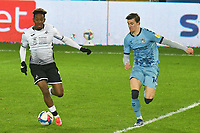 Football - 2020 / 2021 Sky Bet Championship - Swansea City vs Coventry City - Liberty Stadium<br /> <br /> Jamal Lowe on the attack<br /> <br /> COLORSPORT/WINSTON BYNORTH