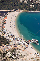 """21.06.2015, Zrce, Insel Pag, CRO, Der Strand Zrće befindet sich unweit der kroatischen Stadt Novalja auf der Insel Pag in Norddalmatien. Seit der Unabhängigkeit Kroatiens entwickelte sich der Strand Zrće zu einer Partymeile der Jugend und ist als """"Ibiza Kroatiens"""" bekannt, im Bild Zrce is a long pebble beach on the Adriatic island of Pag // Zrće beach is located near the Croatian town of Novalja on Pag island in North Dalmatia. Since Croatia's independence, the beach Zrće has developed into a party area of youth and is known as the """"Ibiza of Croatia"""", pictured on 2015/06/12 in Zrce in Insel Pag, Croatia on 2015/06/21. EXPA Pictures © 2015, PhotoCredit: EXPA/ Pixsell/ Dino Stanin<br /> <br /> *****ATTENTION - for AUT, SLO, SUI, SWE, ITA, FRA only*****"""