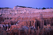 Dawn light over Wall Street, from Sunset Point, Bryce Canyon National Park, UTAH
