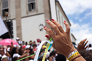 Every second 2nd Thursday in February thousands of people attend the Lavagem do Bonfim - The washing of Bonfim at the Iglesia do Bonfim - Church of Bonfim in Salvador de Bahia,