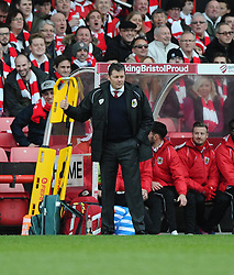 Bristol City manager, Steve Cotterill  - Photo mandatory by-line: Joe Meredith/JMP - Mobile: 07966 386802 - 25/01/2015 - SPORT - Football - Bristol - Ashton Gate - Bristol City v West Ham United - FA Cup Fourth Round