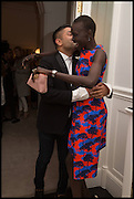 OSMAN YOUSEFZADA ; ALEK WEK;  , The Launch of OSMAN the Collective No.3, hosted by Valeria Napoleone, Kensington. 15 May 2014.