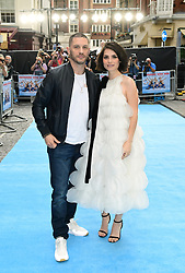 Tom Hardy and Charlotte Riley attending the Swimming with Men premiere held at Curzon Mayfair, London.