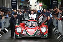 June 11, 2018 - Le Mans, FRANCE - 31 DRAGONSPEED (USA) ORECA 07 GIBSON ROBERTO GONZALEX (MEX) PASTOR MALDONADO (VEN) NATHANAEL BERTHON  (Credit Image: © Panoramic via ZUMA Press)