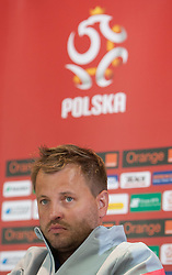 17.05.2012, Dolomitenstadion, Lienz, AUT, UEFA EURO 2012, Trainingscamp, Polen, Pressekonferenz, im Bild Teammanger Konrad Pasniewski // Teammanger Konrad Pasniewski during Pressconference of polish National Footballteam for preparation UEFA EURO 2012 at Dolomitenstadion, Lienz, Austria on 2012/05/17. EXPA Pictures © 2012, PhotoCredit: EXPA/ Johann Groder