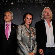 NLD/Den Haag/20111114 - Perslunch Virgin Galactic iav Sir Richard Branson, Cosmonaut Sergei Zhukov
