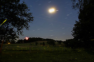 Chesterl, N.Y. - Fireflies on the evening  of July 13, 2019.
