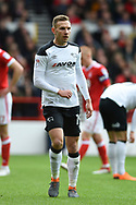 Derby County striker Andreas Weimann (19) during the EFL Sky Bet Championship match between Nottingham Forest and Derby County at the City Ground, Nottingham, England on 11 March 2018. Picture by Jon Hobley.