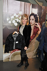 NAN RICHARDS international media executive at a private sales evening for Atelier Mayer held at 18 Horbury Crescent, London W11 on 22nd November 2011.