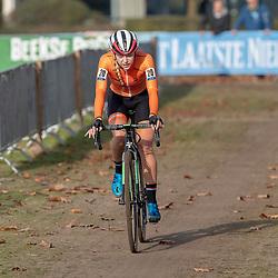 04-11-2018: Wielrennen: EK veldrijden: Rosmalen<br />Inge van der Heijden (Uden) pakt zilver op het EK junior vrouwen