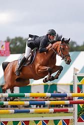 Dekens Frederik (BEL) - Inaki van den Dael<br /> LRV Nationale wedstrijd jonge paarden <br /> Wortel 2013<br /> © Dirk Caremans