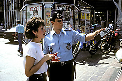 Policeman Giving Directions