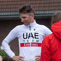 Svein Erik Bystrøm før starten i Lyngdal av Tour of Norway sykkelritt etappe 2: Lyngdal - Kristiansand.