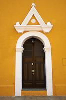 Mexique, Etat du Yucatan,  Ville jaune de Izamal // Mexico, Yucatan state, Izamal, yellow city