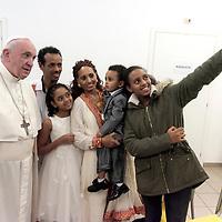 Papa Francesco alla Cittadella della carità